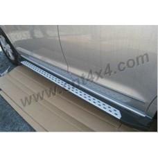 Комплект алюминиевых порогов стиль BMW