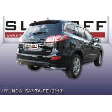Уголки d57 Hyundai Santa Fe (2010)