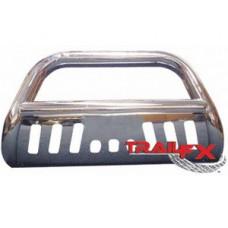 Передняя защита 76 мм полир.нерж.сталь.