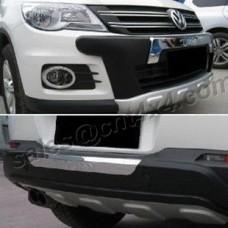 К-т накладок на перед. и задний бампер Volkswagen Tiguan