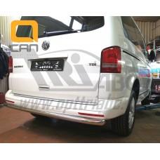 Защита заднего бампера Volkswagen T5 /T6 (2012-) (одинарная) d 60