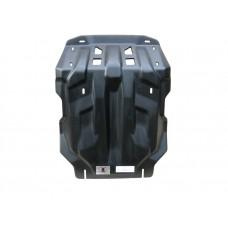 Защита картера двигателя, радиатора, кпп и рк Toyota Hilux, V-2,5TD; 3,ОTD, КПП- все,4X4, (2012-08.2
