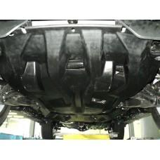 Защита картера двигателя, кпп и рк Toyota Land Cruiser (Тойота Ленд Круизер) Prado 150 V-все(2009-)/