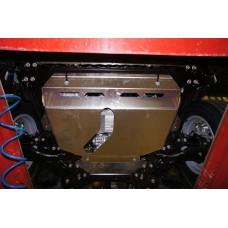 Защита картера двигателя и кпп Toyota Rav 4, V-все (2013-) (Алюминий 4 мм)