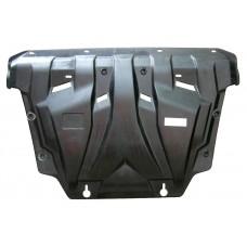 Защита картера двигателя и кпп Toyota Rav 4, V-все(2006-2013) (Композит 6 мм)