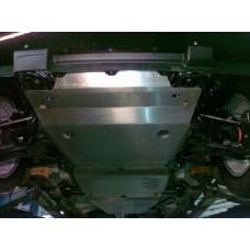Защита КПП Suzuki Grand Vitara JT V-все (2005-) (Алюминий 4 мм)
