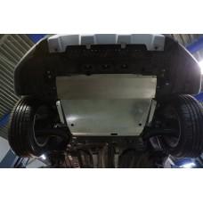 Защита картера двигателя и кпп Suzuki SX4 V-1,6 (2014-)  (Алюминий 4 мм)