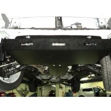 Защита КПП Subaru Forester V-все (2011-03/2013) (Алюминий 4 мм)