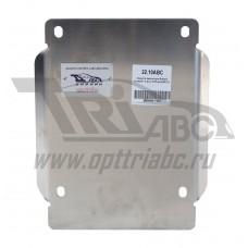 Защита редуктора Subaru Forester V-все, КПП-все(2013-) (Алюминий 4 мм)