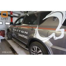 Защита штатных порогов Ssang Yong Rexton (Ссанг Йонг Рекстон) (2012-) d 42