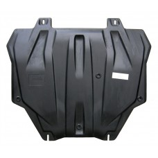 Защита картера двигателя и кпп Mitsubishi Outlander(Митсубиши Аутлендер)XL V-все кр.3,0(06-12)/Lance
