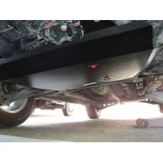 Защита картера двигателя и кпп Mitsubishi Outlander (Митсубиши Аутлендер) XL V-все, кроме 3,0 (06-12