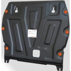 Защита картера Nissan Juke V-1.6 + КПП штамп.