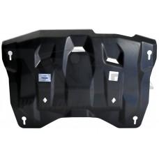 Защита картера двигателя и кпп Nissan Teana 2WD,4WD,V-все(08-13-)/ Murano,Z51, 4WD V-3,5 (2008-) (Ко