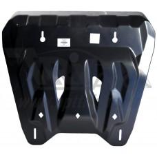 Защита картера двигателя и кпп Nissan X-Trail (T31) V-все (2007-2014) (Композит 6 мм)