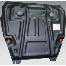 Защита картера Renault Koleos V-все + КПП штамп.