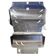 Защита картера двигателя и кпп Infiniti (Инфинити) QX80 (2014-) (QX56 (2010-2014-))/Nissan Patrol V-
