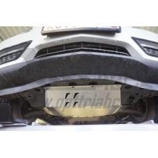 Защита днища Honda Pilot V-все (2016-)/Acura MDX'16 V-3,5 АКПП (2014-)/ из 4 частей (Алюминий 4 мм)