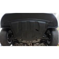 Защита картера двигателя и кпп Nissan Qashqai (Великобритания)V-все (2014-11.2015) (Композит 6 мм)