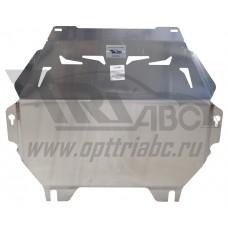Защита картера двигателя и кпп Mitsubishi Outlander (Митсубиши Аутлендер) V-2.0;2.4;3.0 (2013-10.201