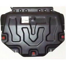 Защита картера Mazda (Мазда) CX-5 V-все + КПП штамп.