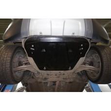 Защита картера двигателя и кпп RANGE ROVER Evogue V-2,0Ti;2,2TD (2011-)/Discovery Sport, V-все (2015