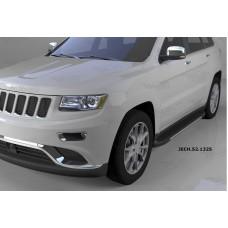 Пороги алюминиевые (Onyx) Jeep Gr. Cherokee (2011-) (кроме SRT)