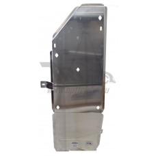 Защита бензобака Infiniti (Инфинити) QX80 (QX56 (2010-)) (Алюминий 4 мм)