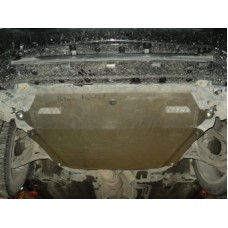 Защита картера Honda (Хонда) Cross Tour V-все + КПП (алюмин.)