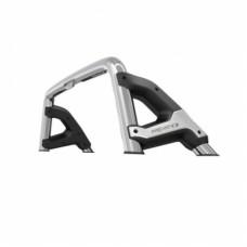 Защитная дуга в кузов пикапа 76 мм с логотипом полир. нерж. сталь.