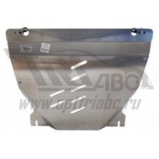 Защита картера двигателя и кпп Ford Explorer V-все ( 2010-2015-)  (кроме к-ции Sport) (Алюминий 4 мм