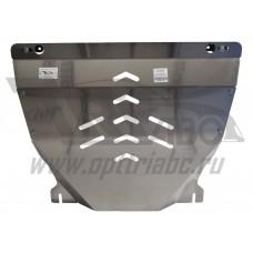 Защита картера двигателя и кпп Ford Explorer,комплектация Sport, V-все ( 2010-2015)  (Алюминий 4 мм)