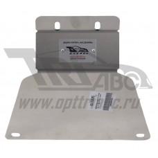 Защита заднего редуктора Ford Kuga V-1.6; 2,0D(2013-) (Алюминий 4 мм)