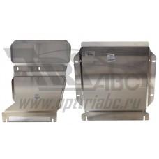 Защита картера двигателя и кпп VW Touareg (Туарег) V6i, V6TD(10-)/Audi (Ауди) Q7 V6i, V6TD(09-05.201