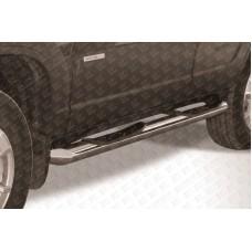Пороги d76 с проступями Chevrolet Niva (2010)
