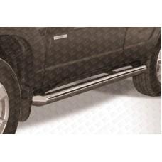 Пороги d76 труба Chevrolet Niva (2010)