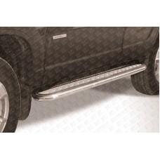 Пороги d57 с листом Chevrolet Niva (2010)