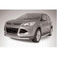 Защита переднего бампера d76 Ford Kuga (2013)