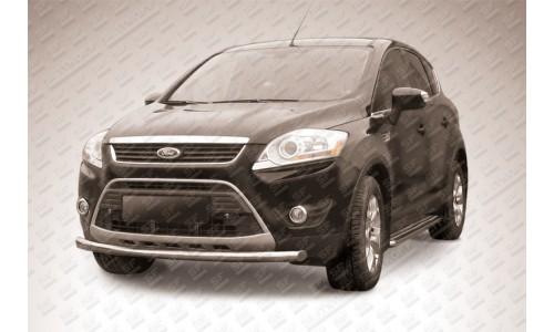 Защита переднего бампера d57 Ford Kuga (2008) на Ford Kuga (2008-2012)