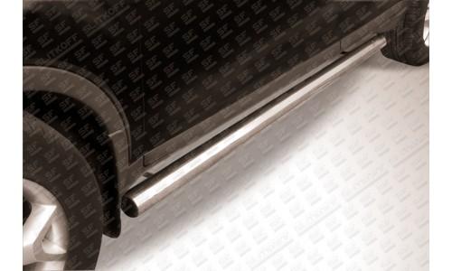 Пороги d76 труба Ford Kuga (2008) на Ford Kuga (2008-2012)
