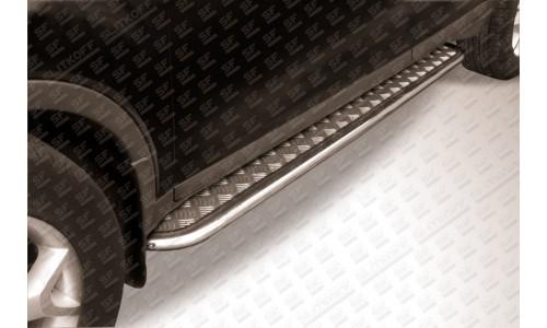 Пороги d42 с листом Ford Kuga (2008) на Ford Kuga (2008-2012)