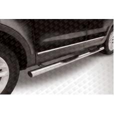 Пороги d76 с проступями Ford Explorer (2012)