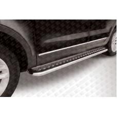 Пороги d57 с листом Ford Explorer (2012)