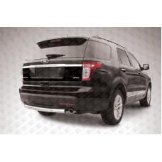 Защита заднего бампера d76 Ford Explorer (2012)