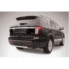 Защита заднего бампера d57 Ford Explorer (2012)