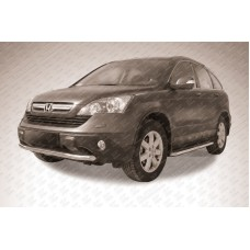 Защита переднего бампера d57 Honda CR-V (2009)