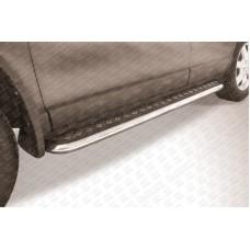 Пороги d57 с листом Honda CR-V (2009)