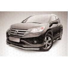 Защита переднего бампера d57 Honda CR-V (2012) (2L)