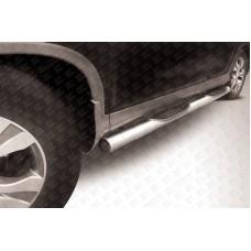 Пороги d76 с проступями Honda CR-V (2013) (2L)