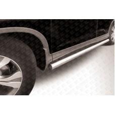 Пороги d76 труба Honda CR-V (2013) (2L)